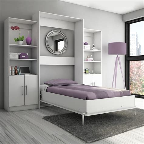 beds in the wall stellar home furniture s207 1 eva twin wall bed atg stores