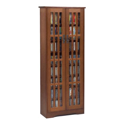 mission style media cabinet leslie dame mission style multimedia storage cabinet