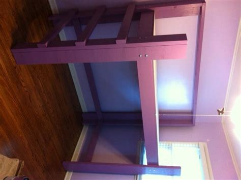 woodwork full size loft bed building plans  plans