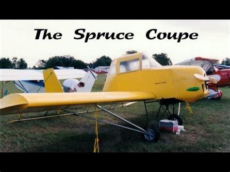 wood aircraft spruce coupe experimental amateurbuilt wood
