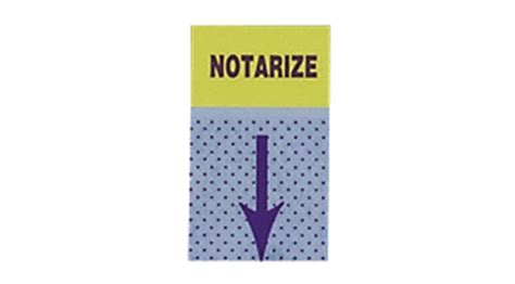 Does The Post Office Notarize by Post It Printed Flags Quot Notarize Quot Microage Basics