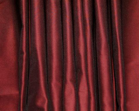 red satin curtains azalea red silk taffeta custom curtains dreamdrapes com