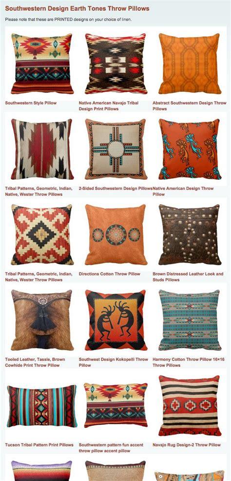 southwestern designs southwestern design earth tones throw pillows