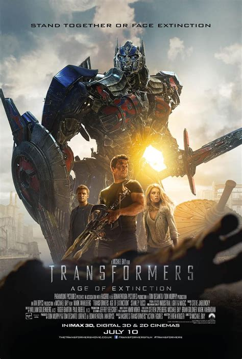 posters  transformers age  extinction ign