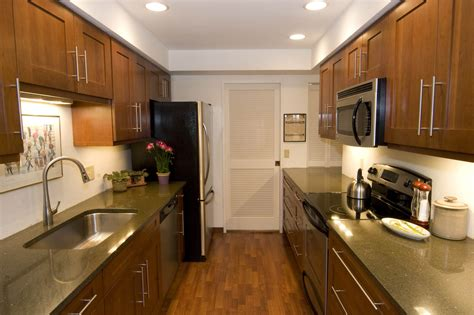 corridor kitchen designs galley kitchen designs and how to go about implementing