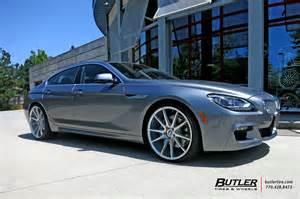bmw 6 series gran coupe with 22in savini bm12 wheels