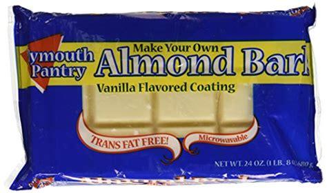 plymouth pantry almond bark pack of 2 desertcart