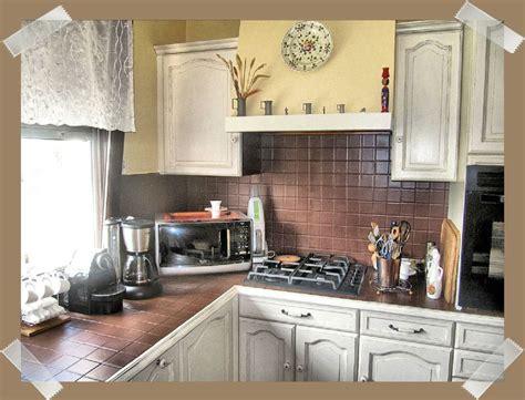 cuisine shabby renovation d une cuisine quot cagne effet shabby quot l
