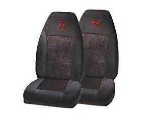 2 front seat covers dodge ram logo