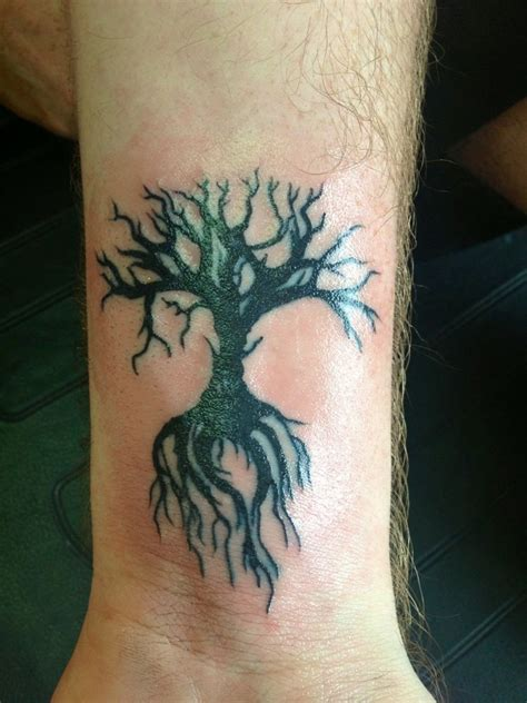 small tree of life tattoo 70 tree of tattoos