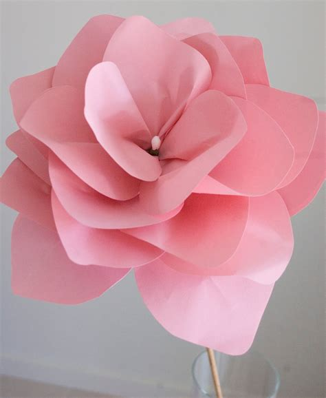 How 2 Make Paper Flowers - grace designs paper flowers