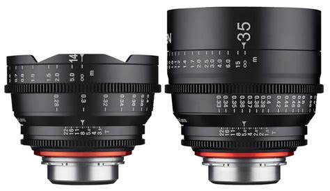 Samyang For Sony Xeen 14mm T3 1 samyang unveils xeen 14mm t3 1 and 35mm t1 5 cinema lenses