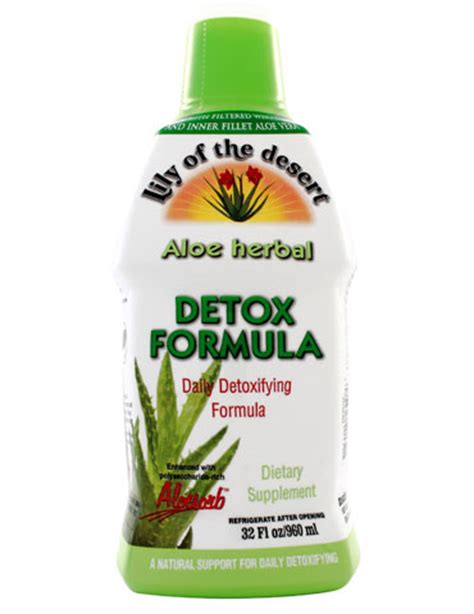 Lemon Juice Concentrate Detox Formula by Aloe Herbal Detox Formula Of The Desert