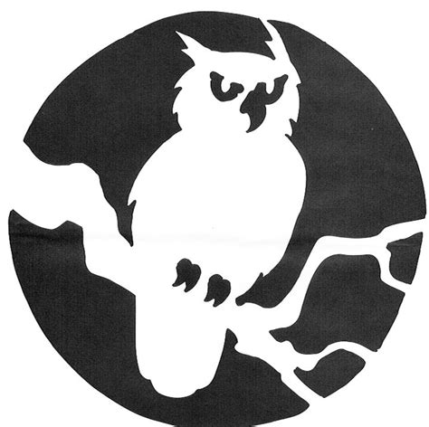 printable owl stencil pumpkin best 25 owl pumpkin stencil ideas on pinterest owl