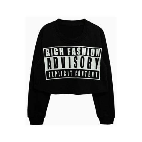 Lettering Oversized Top letters oversized crop sweatshirt in black choies 28 cad
