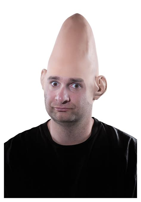 Music Decorations For Home by Egghead Bald Cap Halloween Costume Conehead Wig