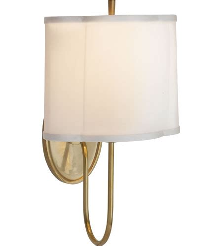 barbara comfort visual comfort barbara barry simple scallop wall sconce in
