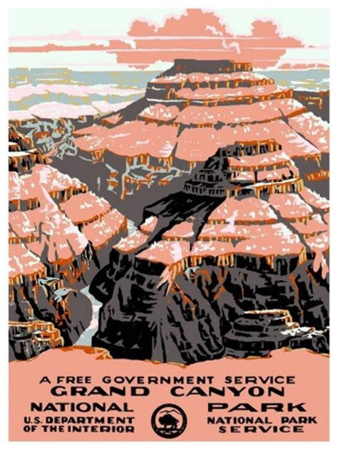 Department Of Interior National Park Service by A Free Government Service Grand National U S