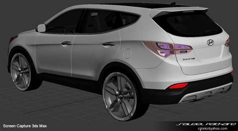 hyundai santa fe sport 2015 3d model max obj mtl tga