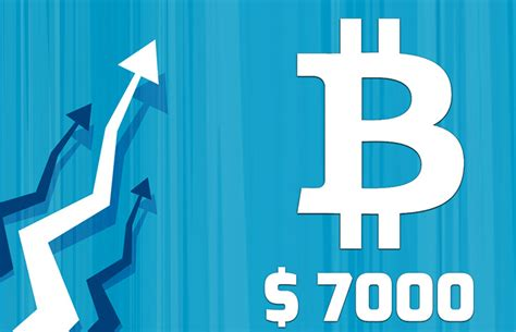 bitcoin news today bitcoin price hikes to 7000 on 1st november rilcoin news