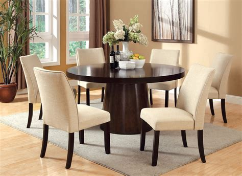 60 dining table set 60 espresso dining table set large