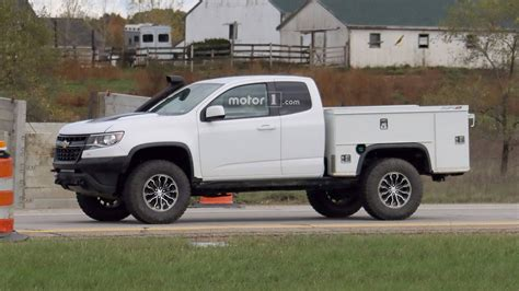 2020 Chevy Colorado by 2020 Chevy Colorado Zr2 Utility Truck 2019 2020 Chevy