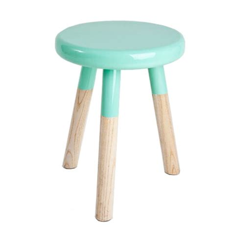 A Three Legged Stool by Mint Malmo 3 Legged Timber Stool Timber