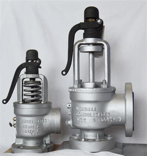 Dresser Consolidated Pressure Relief Valves by Gaskins Co Inc