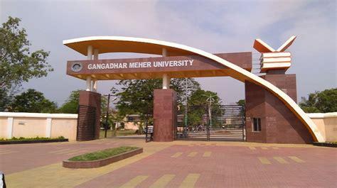 gangadhar meher university sambalpur admissions