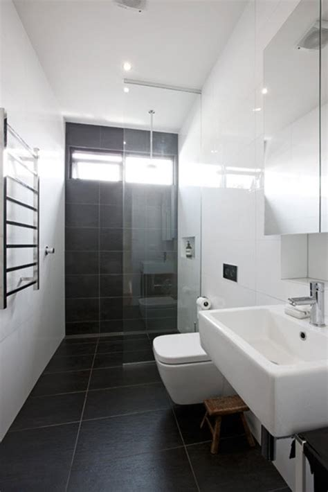 Black Bathroom Floor by 34 Black Bathroom Floor Tile Ideas And Pictures