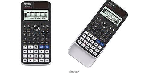 Casio Fx 991ex Tehnical Scientific Calculator casio classwiz fx 991ex scientific calculator has a spreadsheet function slashgear