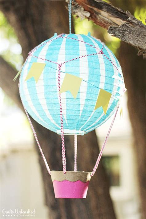 How To Make Air Balloon With Tissue Paper - how to make a air balloon vintage style air