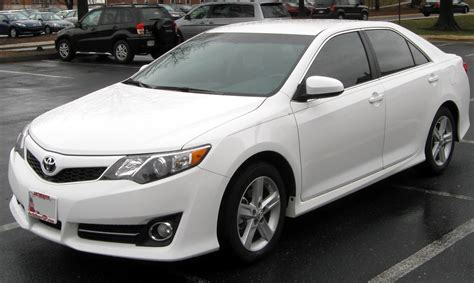 White Toyota Camry Best Selling Car In The United States