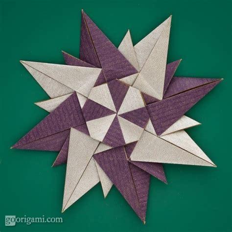 Origami On The Go - rosa dei venti by paolo bascetta modular origami