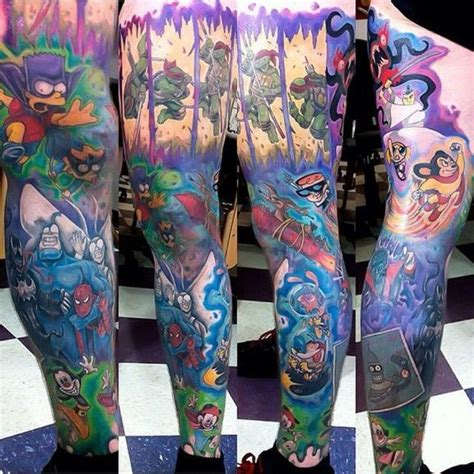 cartoon tattoo arm 1000 images about tattoo pins leg on pinterest foo
