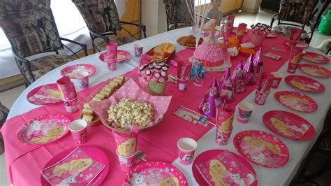 barbie themed birthday party barbie theme birthday party mylifeinpastels
