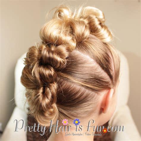 3 mohawk buns pretty hair is fun stuffed bun mohawk pretty hair is
