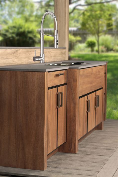 Outdoor Kitchen Sink Cabinet Outdoor Kitchen Manufacturers Of Distinction Naturekast