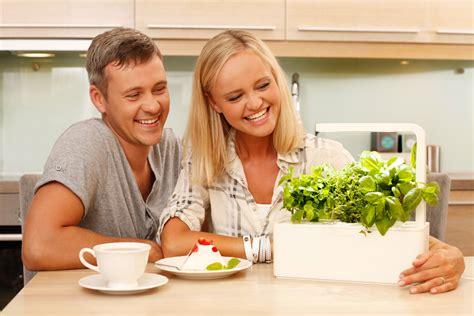 this smart herb garden lets you click grow freshome com this smart herb garden lets you click grow freshome com