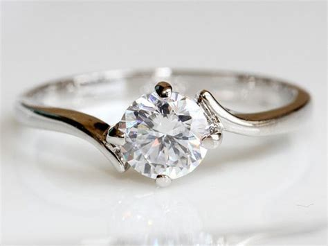 simple unique engagement rings defining unique