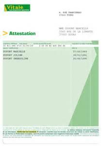 vh ensemble attestation d assurance et de s 233 curit 233 sociale