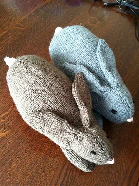 free knitting patterns for rabbits easter henry s knit rabbits my hobby