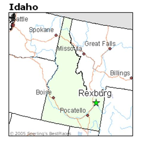 Average Rent Prices by Best Places To Live In Rexburg Idaho