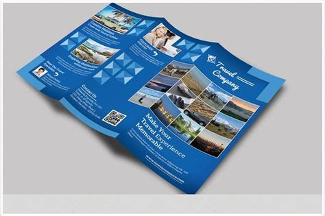 6 page brochure template travel brochure templates for travel agencies texty cafe