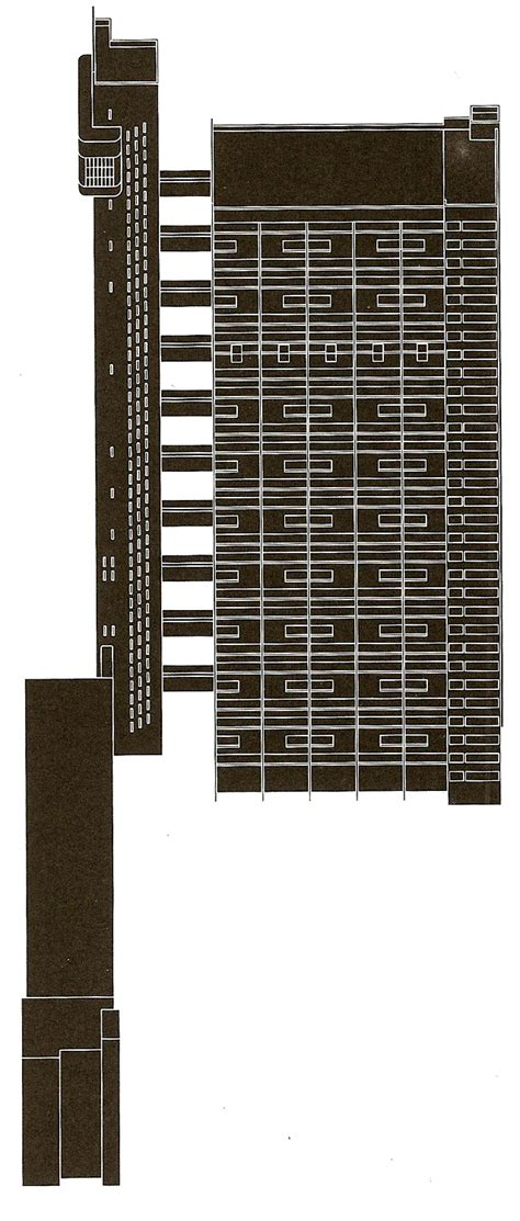 Apartment Building Blueprints the trellick tower the fall and rise of a modern monument