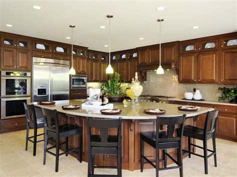 eat in kitchen island designs conexaowebmix com best 25 round kitchen island ideas on pinterest curved