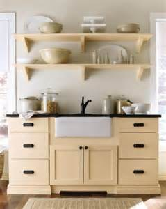 Martha Stewart Maidstone Cabinets by Open Shelving Martha Stewart Living Maidstone Kitchen In
