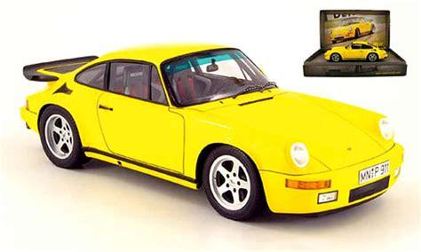 porsche yellow bird porsche 911 ruf ctr yellow bird spark modellini auto 1 18