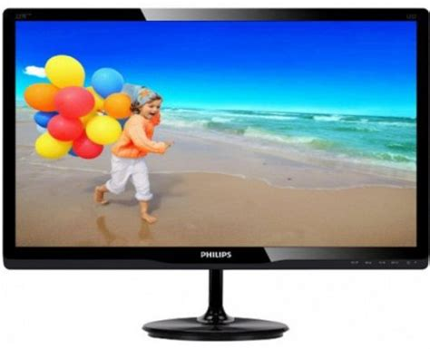 Philips 224e5q 22 Ips Led philips 224e5q mhl hd 21 5 inch ah ips led monitor
