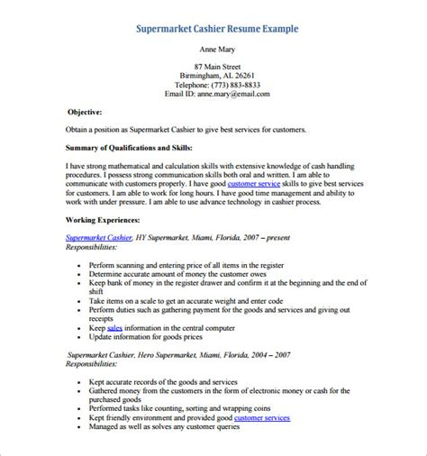 cover letter for cashier with experience ideas cashier resume objective berathen for